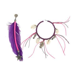 brinco seahorse roxo e rosa 300x300 - Brinco Seahorse