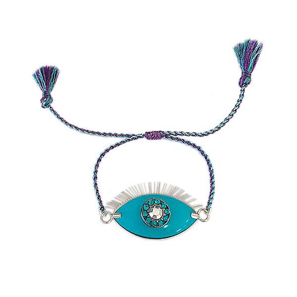 pulseira olho - Pulseira Eyes Azul