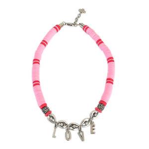 colar love rosa e vermelho 1 300x300 - Colar Love Búzios Metal
