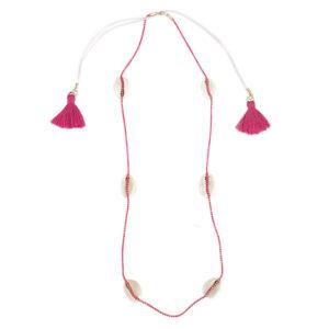 fio conchas pink 300x300 - Fio Búzios Rosa Pink