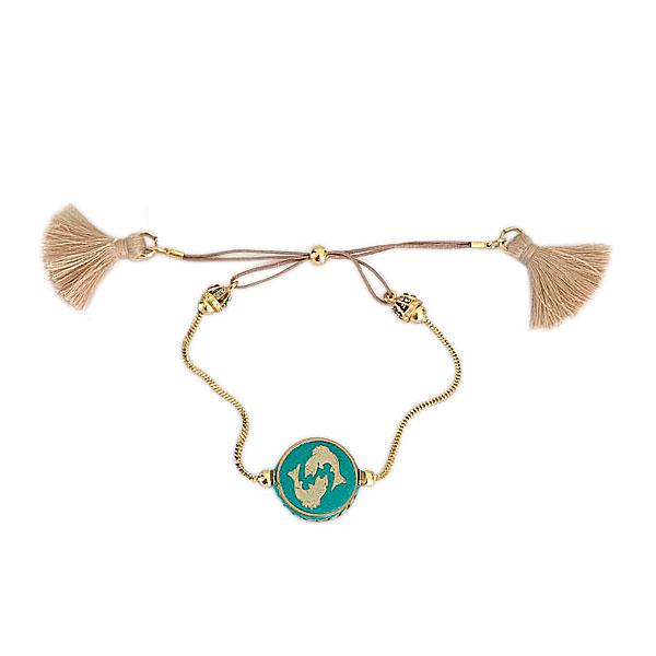 pulseira signo peixes - Pulseira Mandala Signo