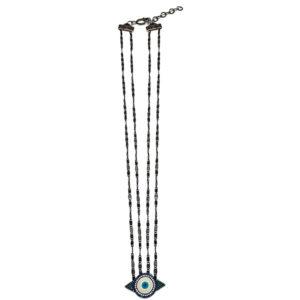 colar olho grego fio duplo 300x300 - Colar Olho Grego Fio Duplo