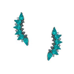 earcuff gotas azul 300x300 - Ear Cuff Gotas Azul