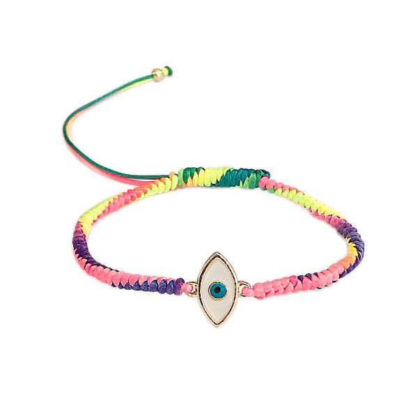 tornozeleira rainbow olho - Tornozeleira Rainbow Olho Grego
